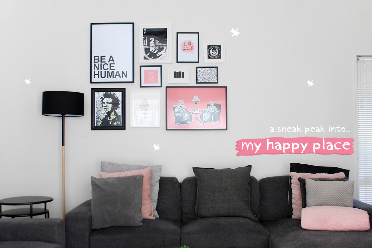 My Happy Place – Sharing a Sneak Peak into My Home.