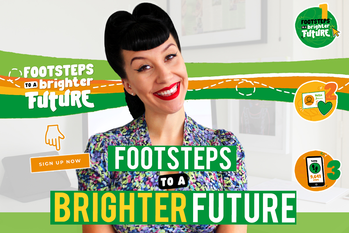 Footsteps to a Brighter Future 2021!